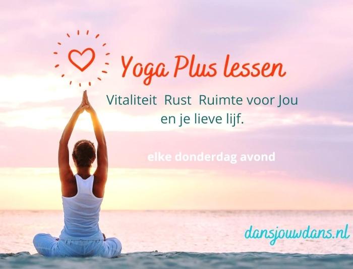 Yoga Plus lessen S. Kerkhoff © BDU Media