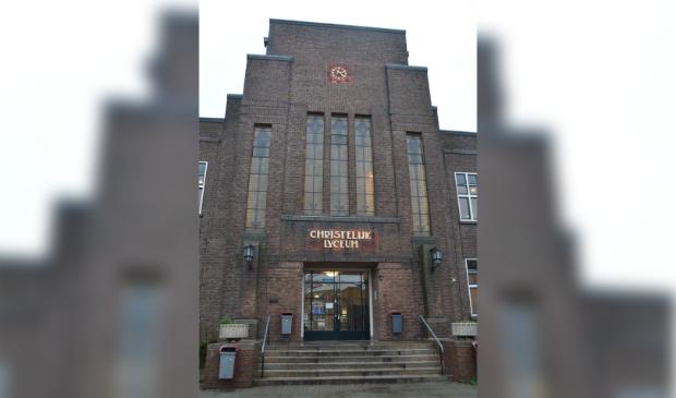 <p>Eerste Christelijk Lyceum in Haarlem.</p>