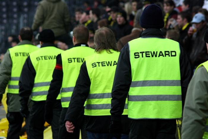 Unitas vraagt stewards