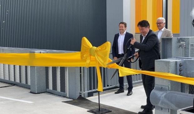 De opening van het nieuwe distribitiecentrum van Jumbo