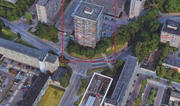 De hoogbouw plannen in het NEWA-project.
