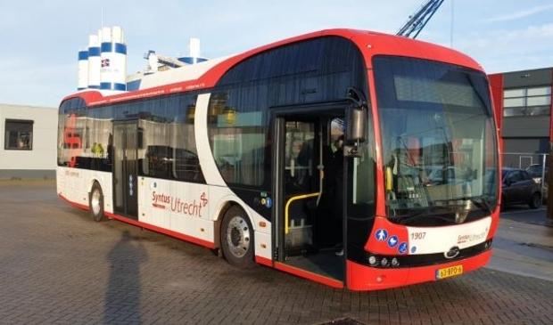 Nieuwe elektrische bussen van leverancier BYD voor Syntus Utrecht
