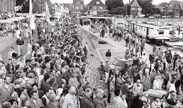 Veel volk op de been tijdens Baggerfestival.