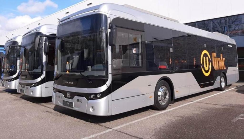 nieuwe elektrische bussen van leverancier Ebusco voor U-OV Provincie Utrecht © BDU media