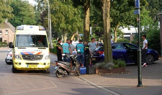 Scooterongeval, Lunteren, Politie, Ambulance