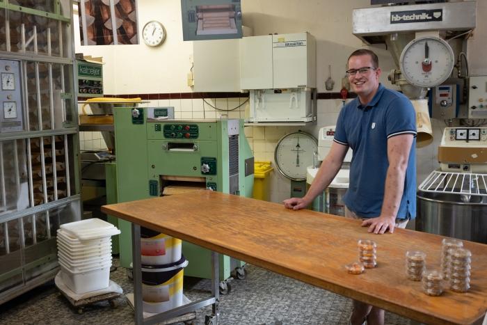 bakker Bert in de bakkerij Klaas Flits © BDU media