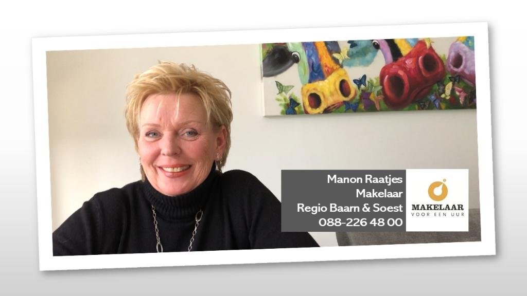""",,Manon Raatjes stelde ons gerust omdat ze wel een oplossing wist voor onze verzameling."""" Makelaar voor een Uur © BDU media"""