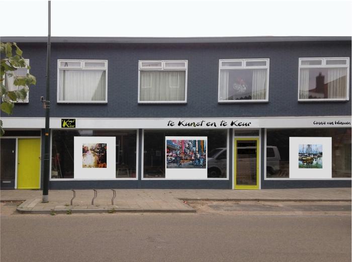 Het pand van de nieuwe kunstwinkel Connie van Winssen © BDU media