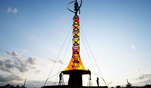 De GEM-Tower op Pukkelpop 2019.