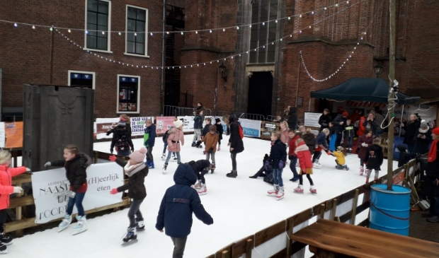 Kunnen we dit jaar ook schaatsen op de Markt?