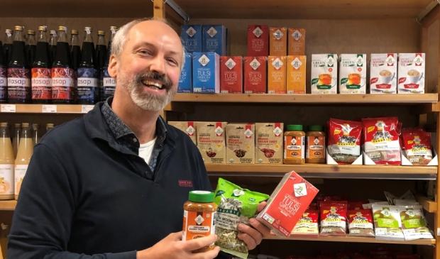 <p>Arno Gr&uuml;nbauer merkt dat steeds meer mensen zich bewust zijn dat goede voeding er toe doet.</p>