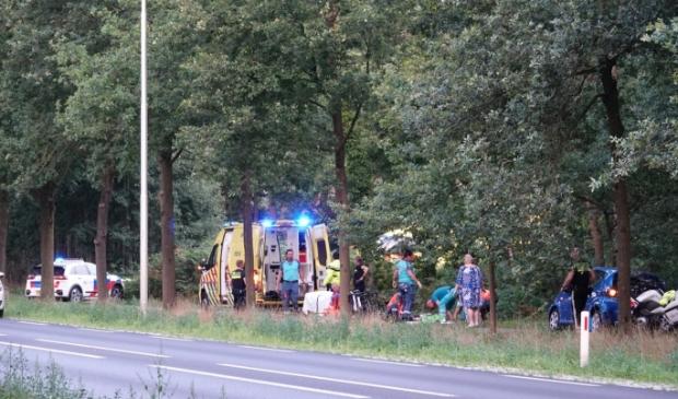 Bij een aanrijding zaterdagavond op de Utrechtseweg (N224) tussen Renswoude en Scherpenzeel is een wielrenster zwaargewond geraakt.