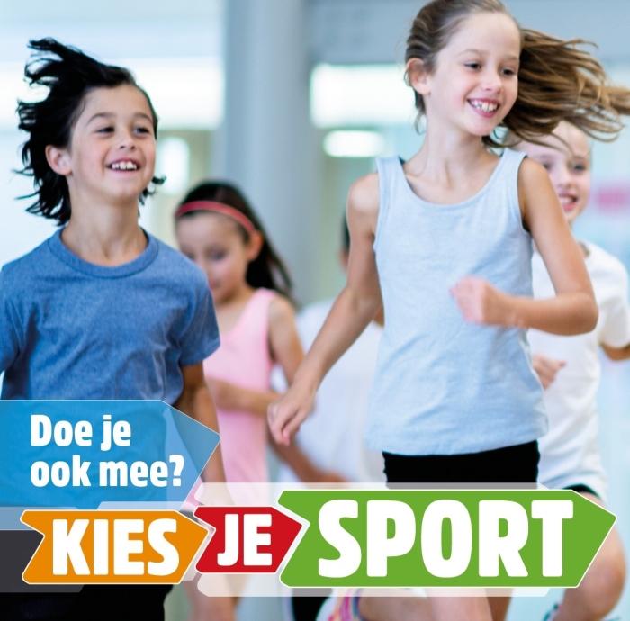 aankondiging Kies je sport