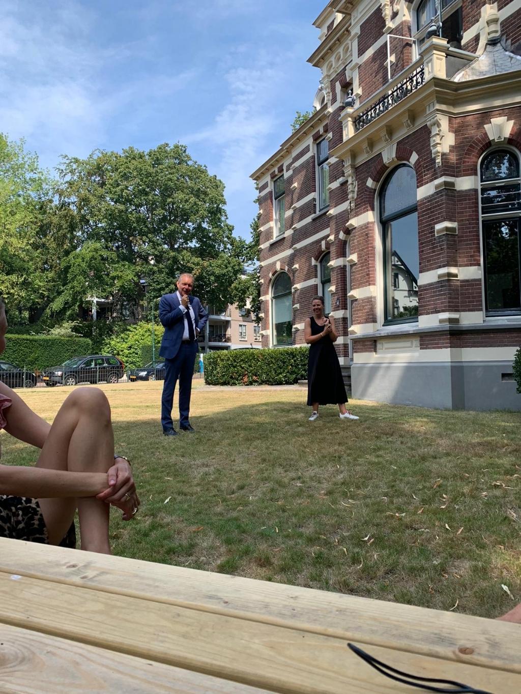Burgemeester Mark Röell maakte indruk. Wens Business Events © BDU media