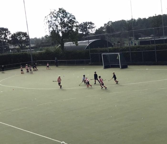 Jongens F spelen hun wedstrijd HIC © BDU media