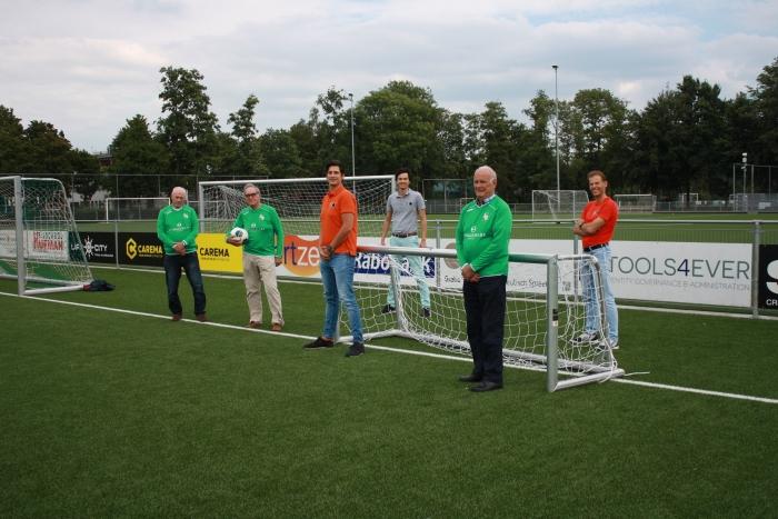 Initiatiefnemers van Walking Football in Baarn