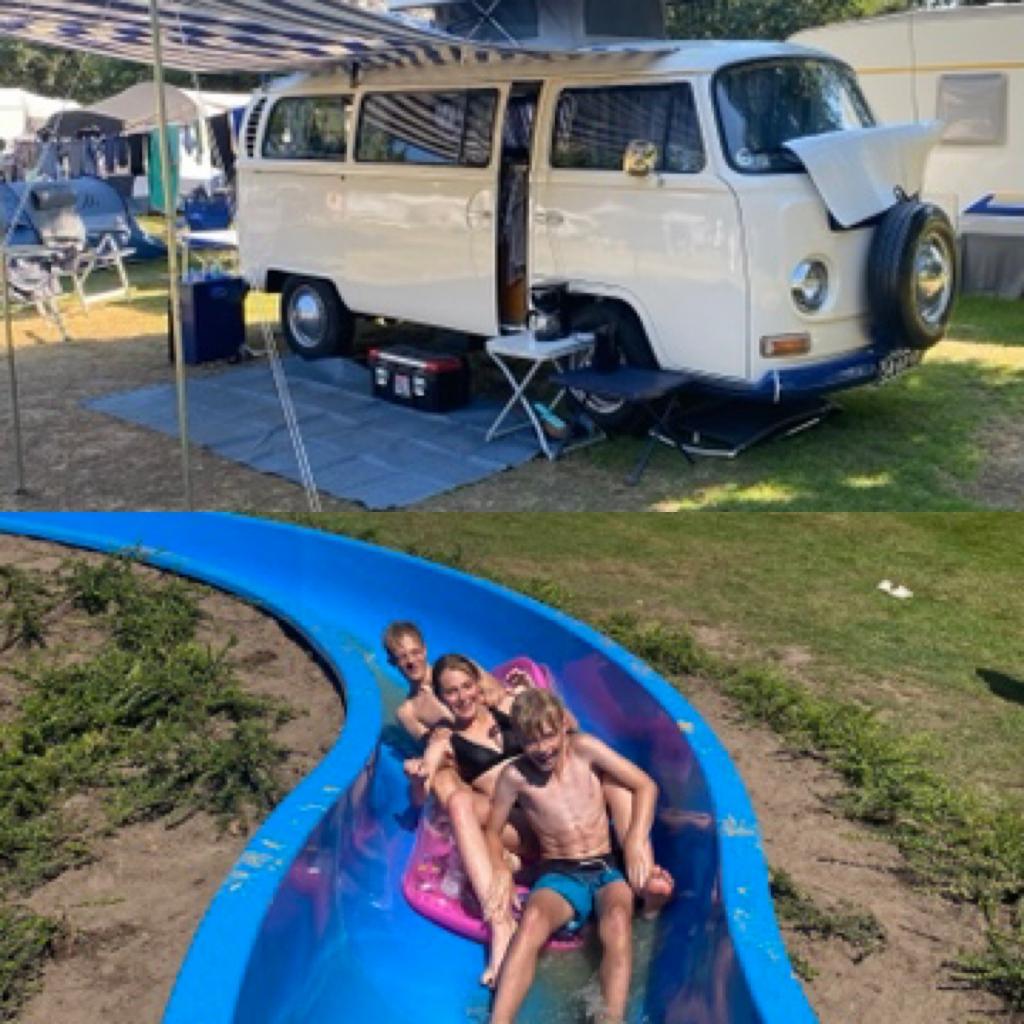 Het was genieten tijdens de vakantie op camping Witte berg in Ootmarsum! Was genieten Tiny Van Loenen © BDU Media