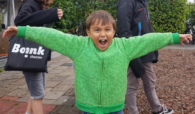 <p>Pim 5 jaar, de jongste deelnemer van afgelopen Zonnebrandstof. </p>