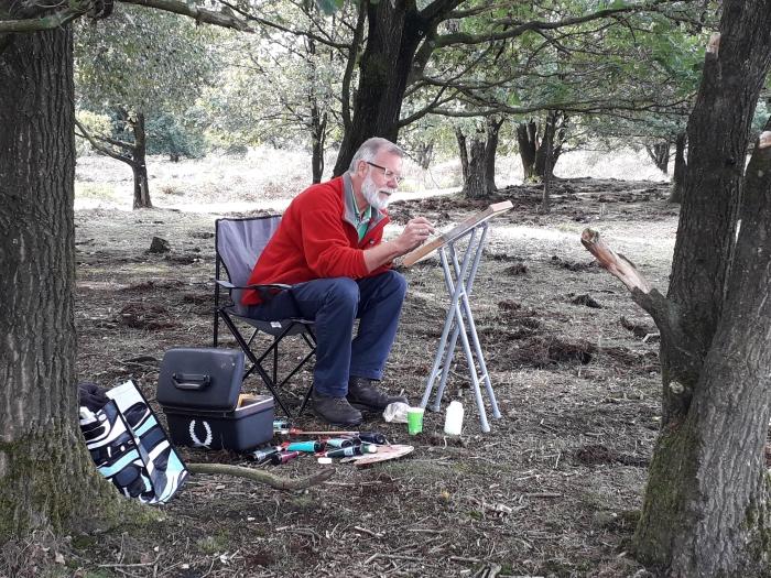 Zoek op zondag 30 augustus een plekje op de heide en maak uw eigen kunstwerk