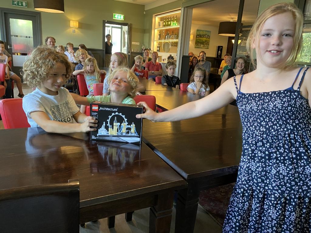 De winnaar van de Legowedstrijd, Manuel Yvon Hoogendijk © BDU media