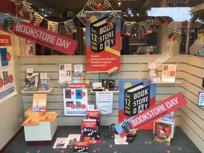 Bookstore Day zaterdag 12 september