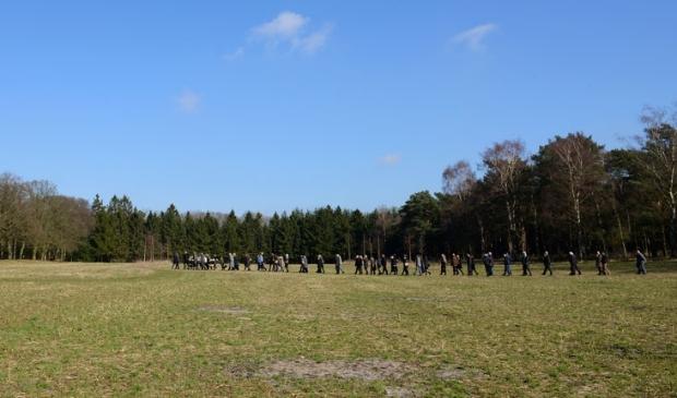 Begrafenis op Natuurbegraafplaats Heidepol.