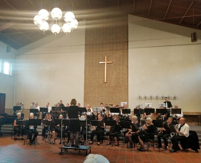 Het Edes Orkest tijdens hun sprookjesconcert in 2019