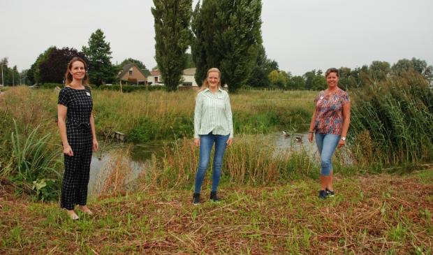 <p>Hospice De Cirkel heeft drie nieuwe medewerkers (v.l.n.r.) Saskia Kok, Christ&rsquo;l Kleijn en Angelique de Wit.</p>