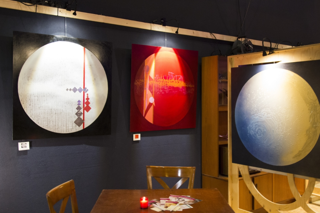 <p>De werken van Henk Hartog zijn te koop. De opbrengst is voor de Hersenstichting.&nbsp;</p> Caspar Kabalt © BDU media