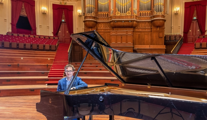 Pianist Wouter Harbers