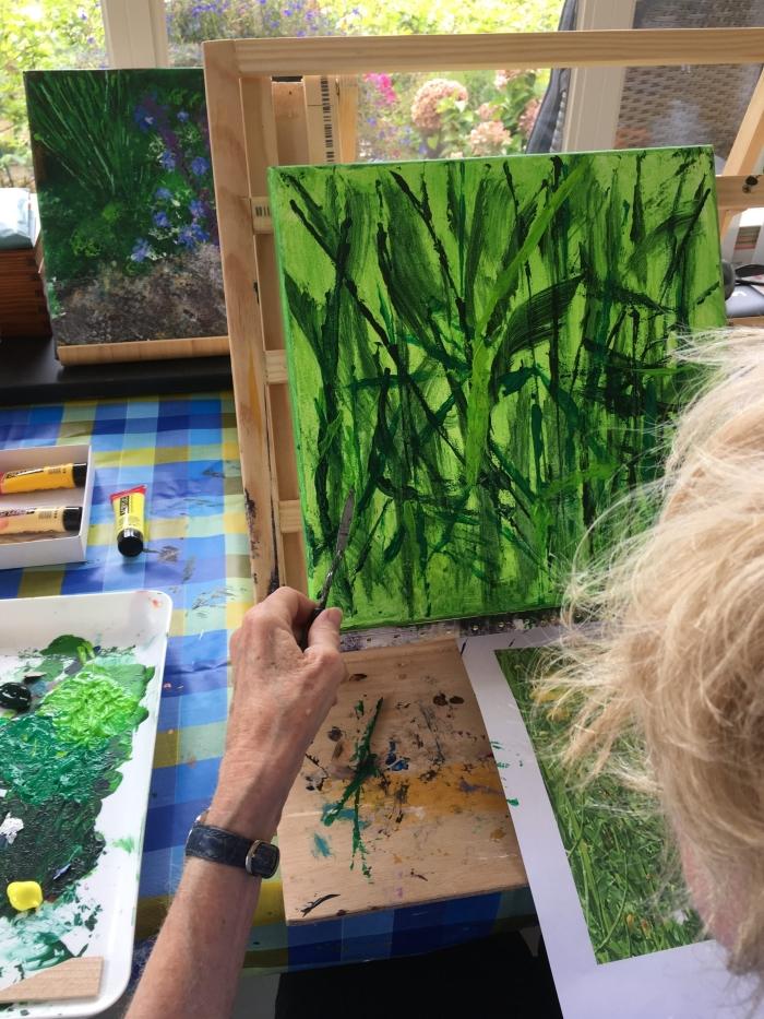 Ellen Koning aan het werk Dorie Canters © BDU Media