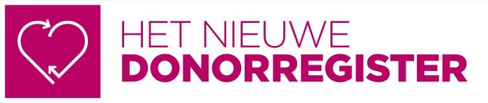 Logo het nieuwe Donorregister