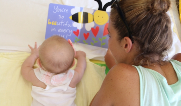 liefdevol samenzijn moeder en kind