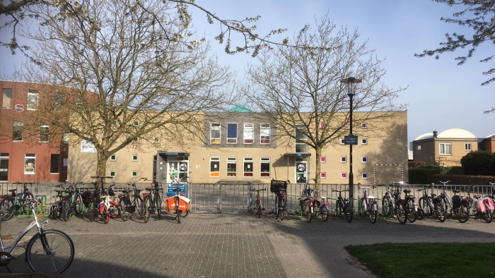 Onze school.