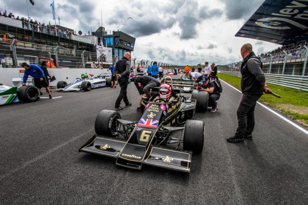 Formule 1 piloten gereed voor de strijd. Bert Westendorp © BDU media