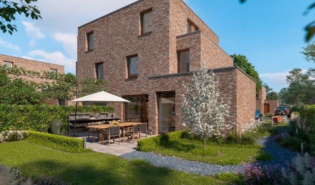 <p>Alle woningen hebben ruime tuinen, omgeven door hagen, met doorzichten naar de Ringvaart of de omliggende bosgordels </p>
