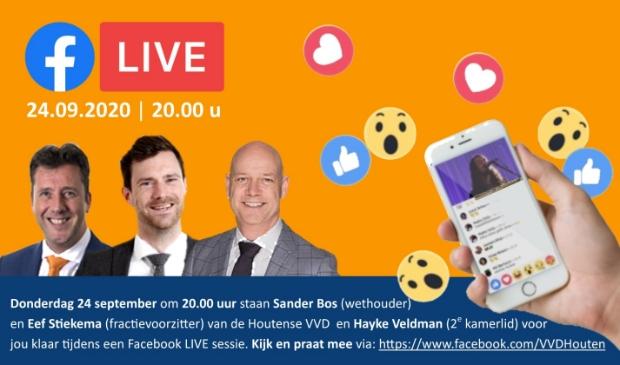 <p>VVD gaat live</p>