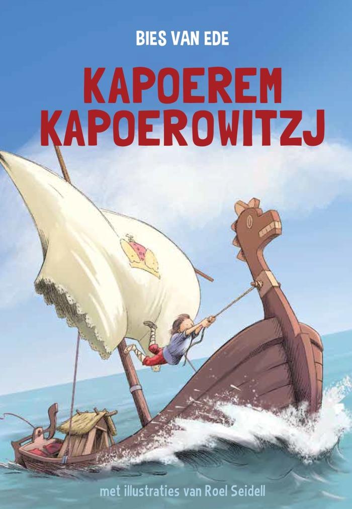 Kapoerem Kapoerowitzj het half miljoenste boek van Bies van Ede Ezo Wolf © BDU media