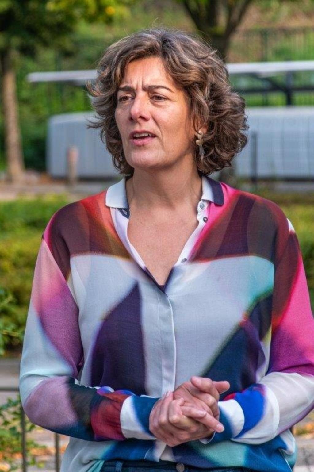 Wethouder Marian van der Weele. Mariëlle Dogterom  © BDU media