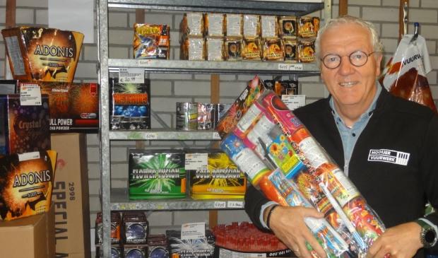 <p>Ondanks het afsteekverbod loopt het storm bij de online verkoop van vuurwerk, merkt Evert Hooijer.</p>