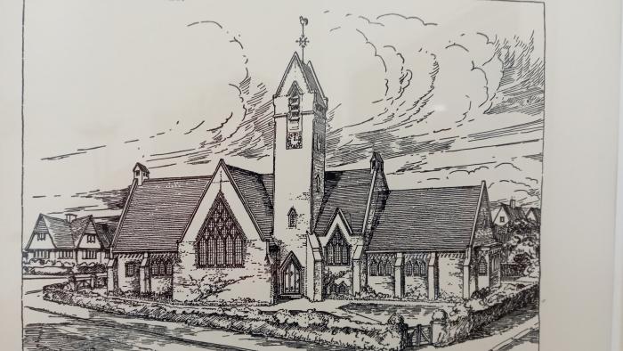 kerk in Halfweg