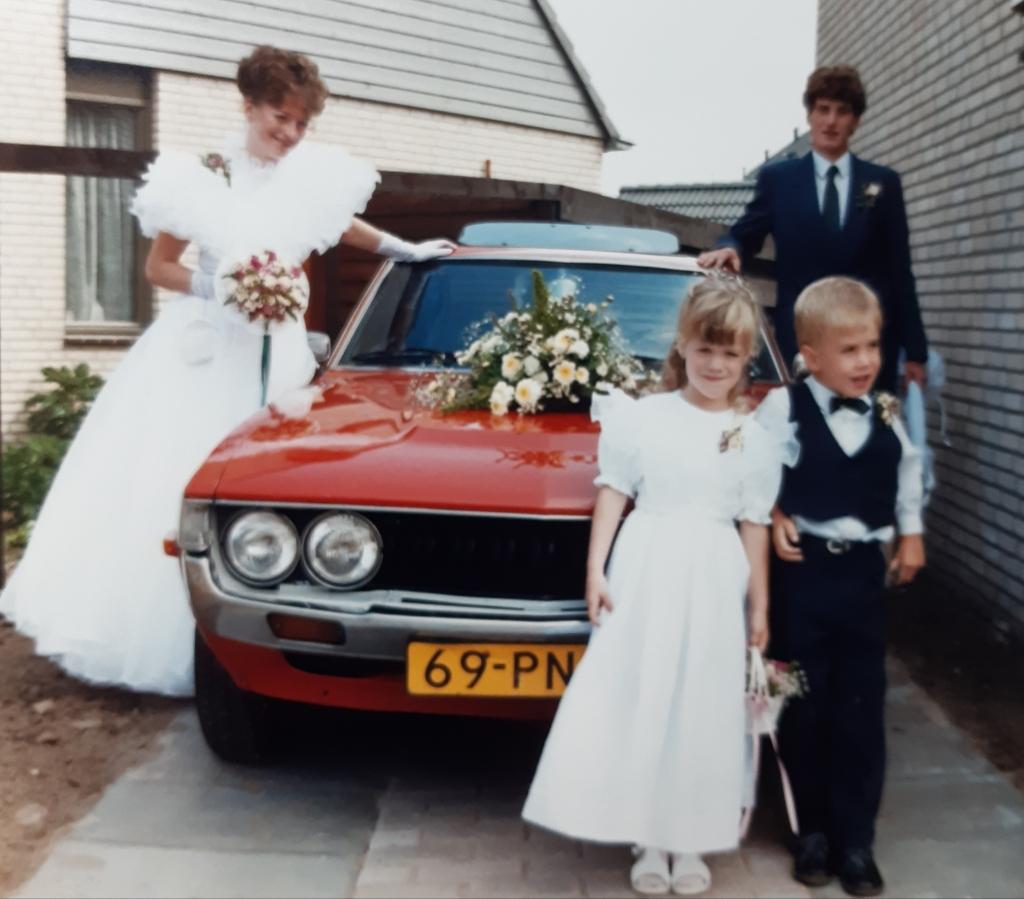 <p>Dick en Gerrie Steenbeek-Roelofsen in 1986.</p> Steenbeek © BDU media