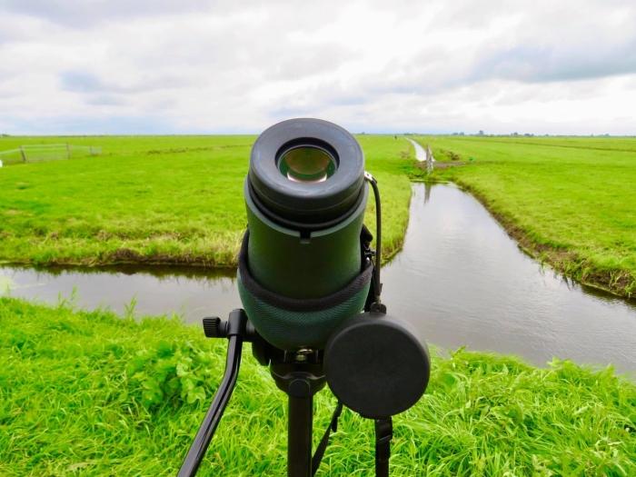 6De professionele Vogel-kijker van Gids Freek Onno Wijchers © BDU media