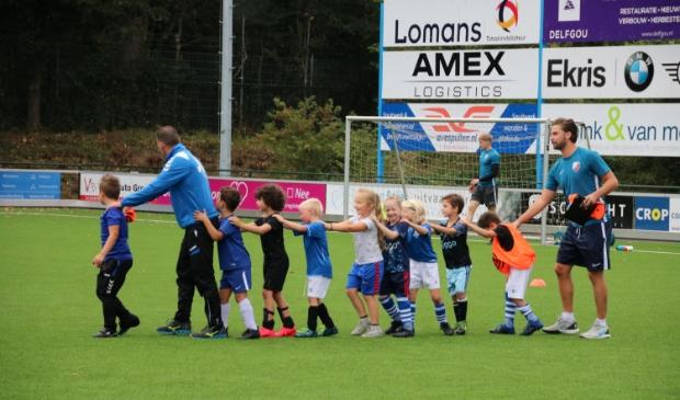 <p>Teambuilding tijdens de FC Utrecht Experience Voetbaldag bij vv Scherpenzeel.</p>