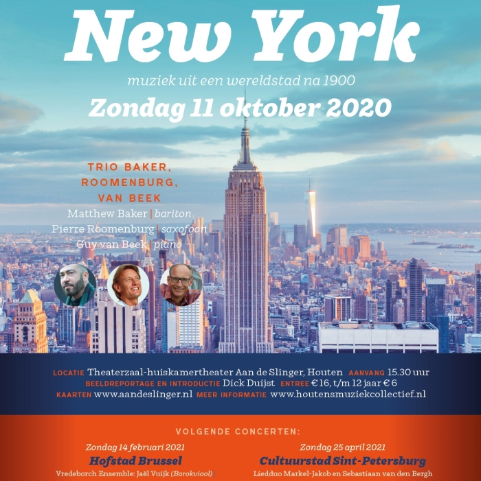 poster New York Houtens Muziek Collectief © BDU media