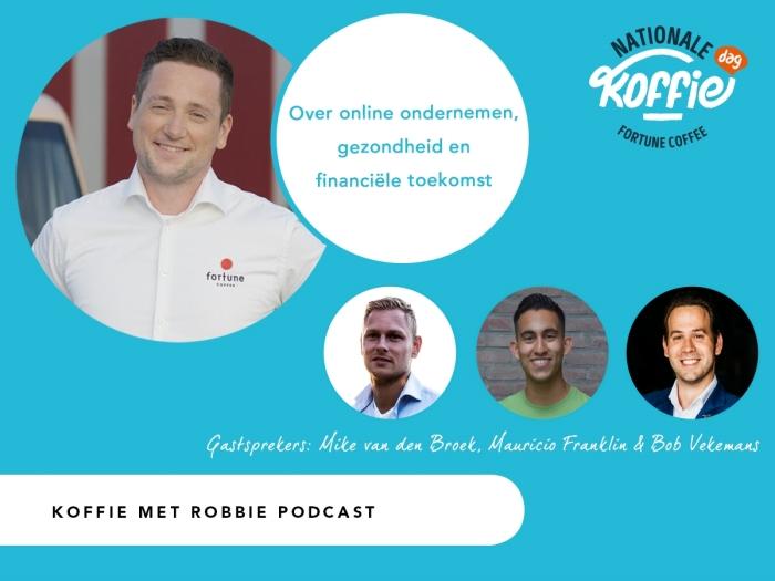 Podcast Koffie met RobbieVoor vragen en informatie neemt u contact op met Robbie van Meggelen van Fortune Coffee via kantoor.breda@fortune.nl of 0162-671090.
