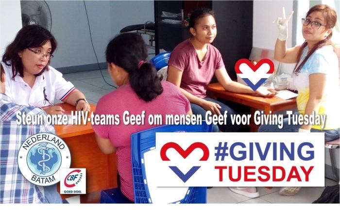 Stichting Nederland-Batam lanceert haar Giving Tuesday campagne en vraagt aandacht voor haar HIV-teams in Indonesië.