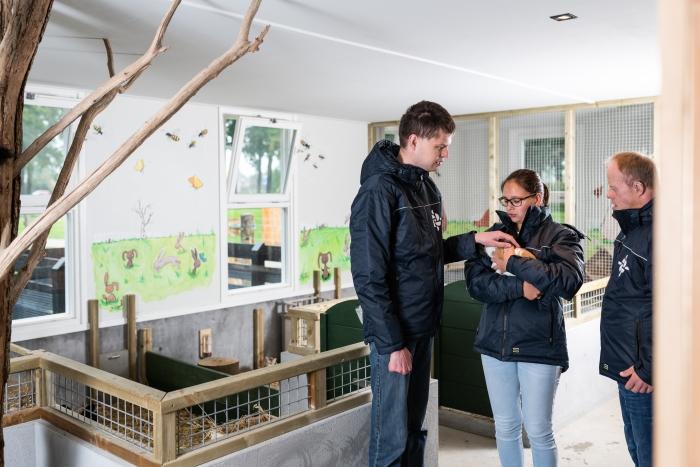 Kinderboerderij Schaffelaar bestaat 1 jaar de Rozelaar © BDU media