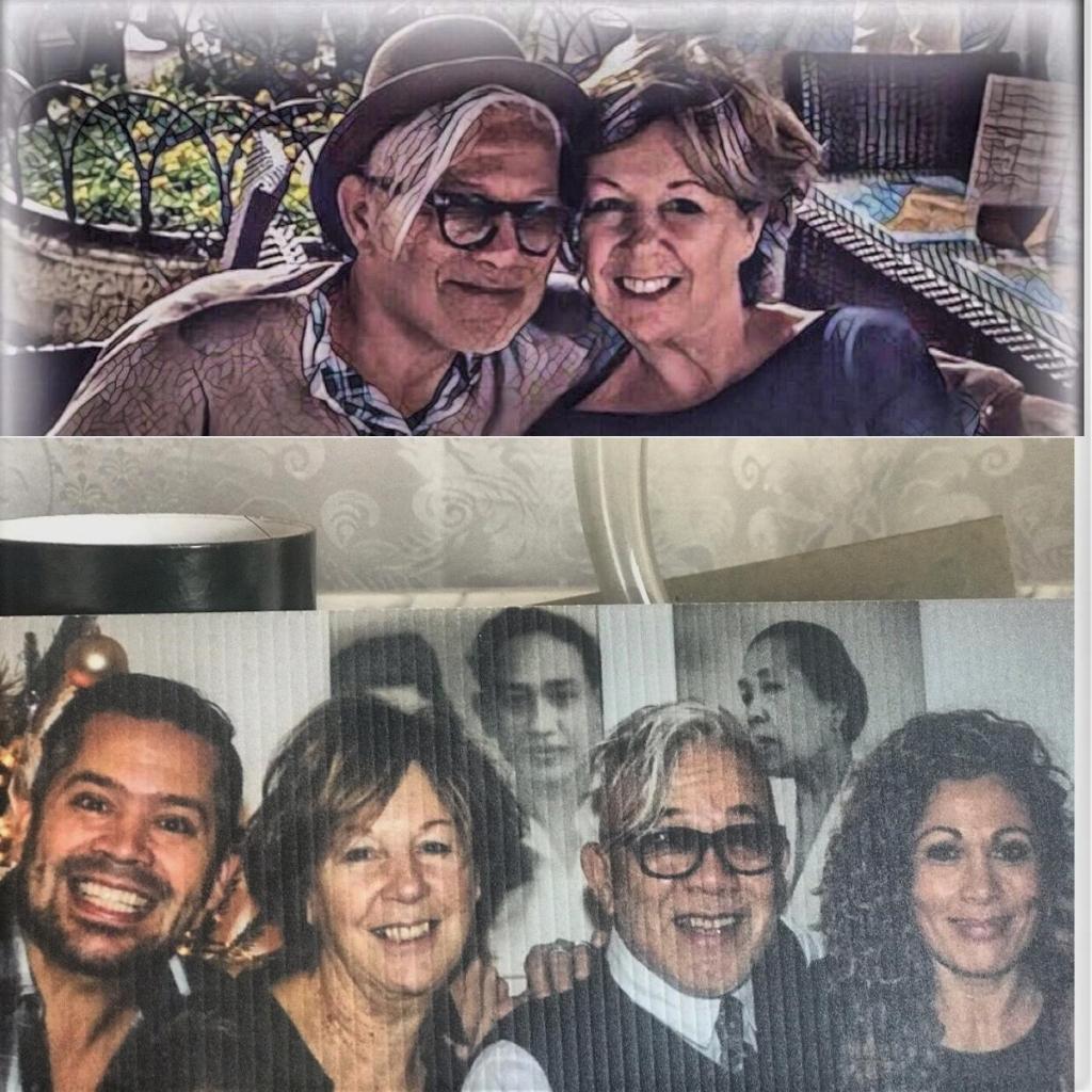 'Met mijn vrouw Berna 46 jaar bij elkaar en ruim 44 jaar getrouwd en twee mooie kinderen en vijf kleinkinderen.' Collectie Jimmy Glasmacher © BDU Media