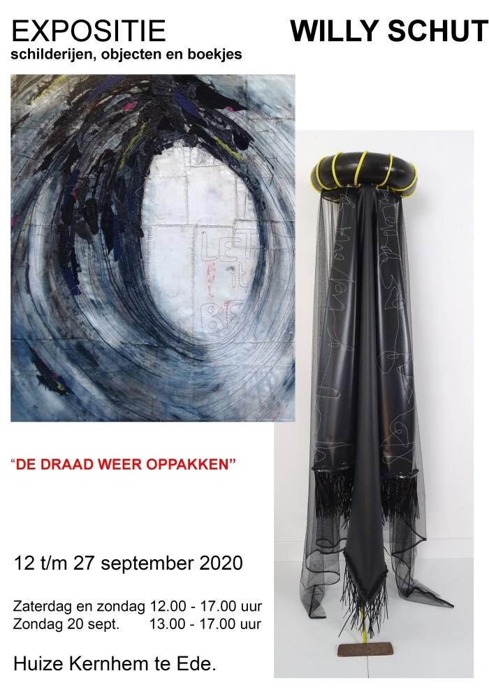 Uitnodiging expositie Willy Schut © BDU Media